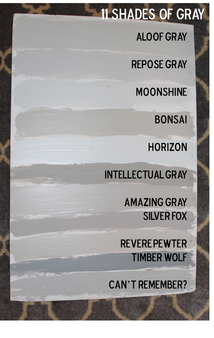 fifty shades of grey our house paint colors southern state of mind. Black Bedroom Furniture Sets. Home Design Ideas
