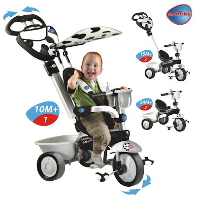 Probamos Dream 4 en 1 Smart Trike