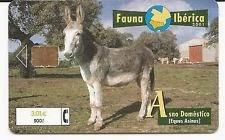 Tarjeta telefónica Asno doméstico (Equus asinus)