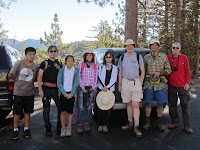 Hikemasters group ready to hike