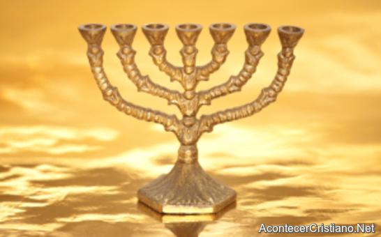 Ubicación del candelabro de oro