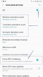 Cách tăng tốc giao diện điện thoại Android Samsung