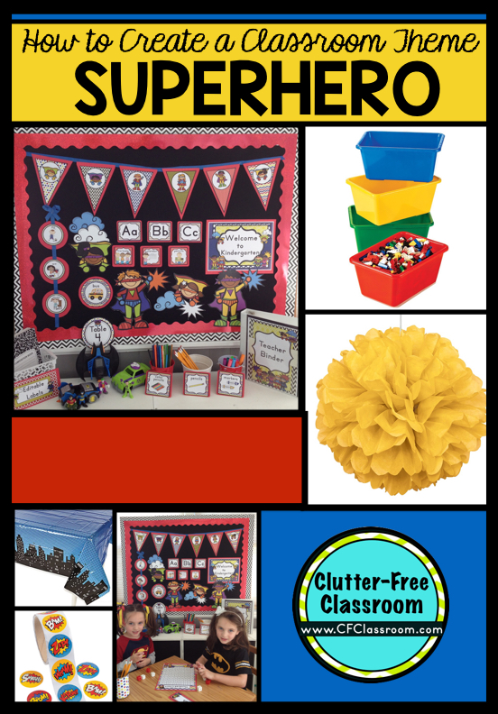 are you planning a superheroes themed classroom or thematic unit this blog post provides great - Free Decoration Ideas