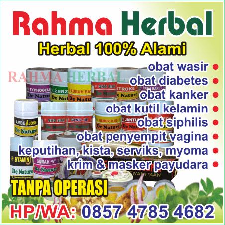 Rahma Herbal penjualan herbal via online, profil Rahma Herbal, agen Rahma Herbal Denature, Rahma Herbal