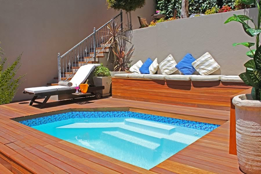 Backyard design ideas; backyard pool; backyard deck