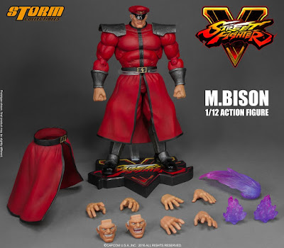 M. Bison della Storm Collectibles tratto da Street Fighter V