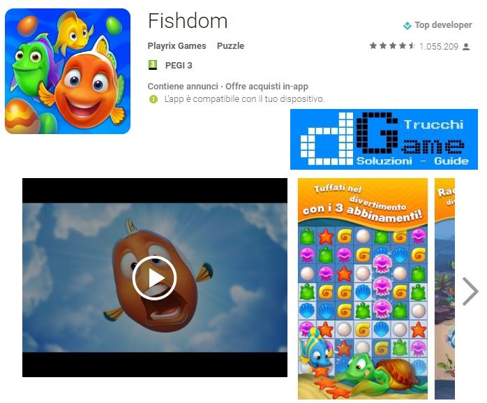 Soluzioni Fishdom livello 541 542 543 544 545 546 547 548 549 550 | Trucchi e Walkthrough level