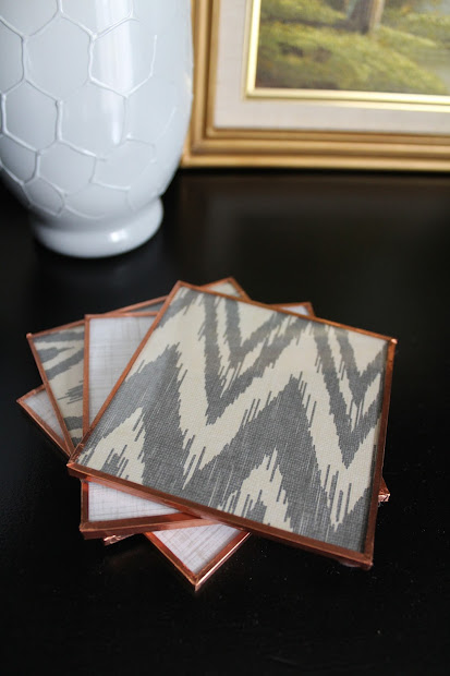 diy glass coasters