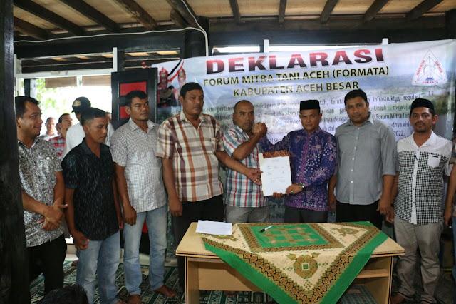 Petani di Aceh Besar Siap Menangkan Pak Cek – Juanda