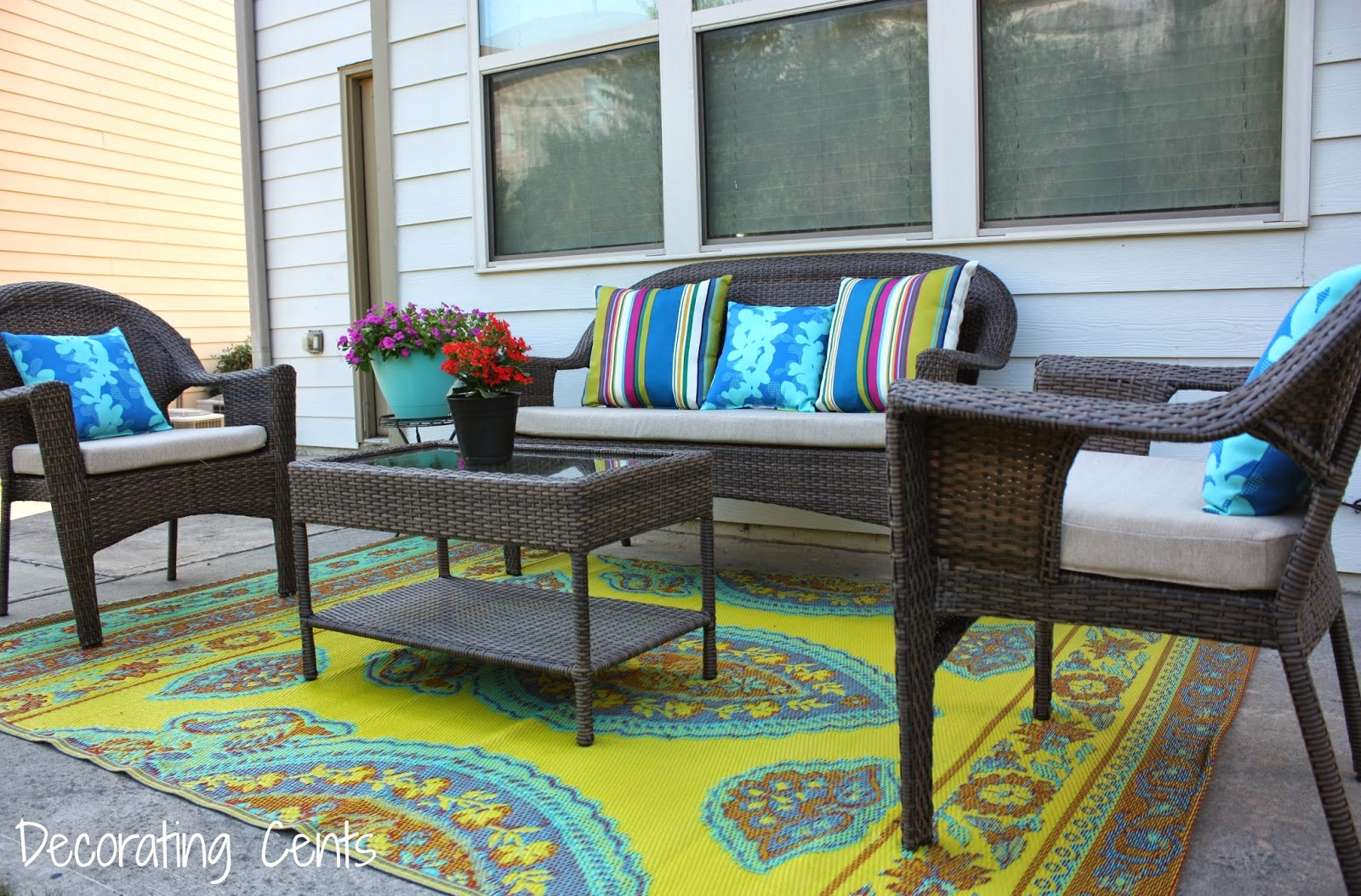 Decorating Cents: Our New Patio