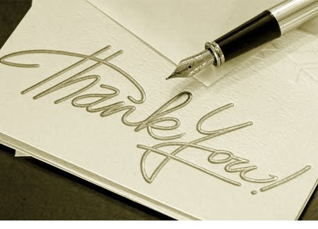 Creative Hospitality: The Thank-You Card: A Lovely, Gracious Tradition