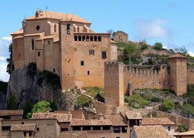 castillo, Alquézar, Alquezra, alcázar, al-qasr