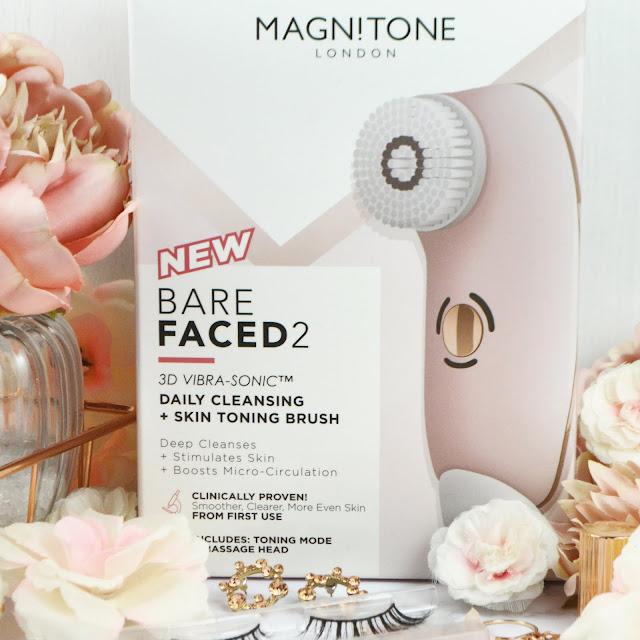 The Magnitone BareFaced 2 3D Vibra Sonic Daily Cleansing Brush, Lovelaughslipstick Blog