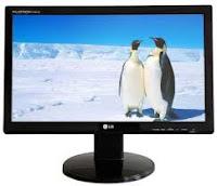 perangkat keluaran output device - monitor lcd