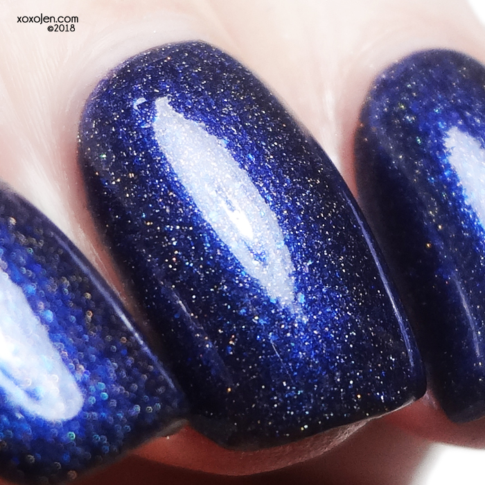 xoxoJen's swatch of Lollipop Posse Lacquer The Beat of My Heart