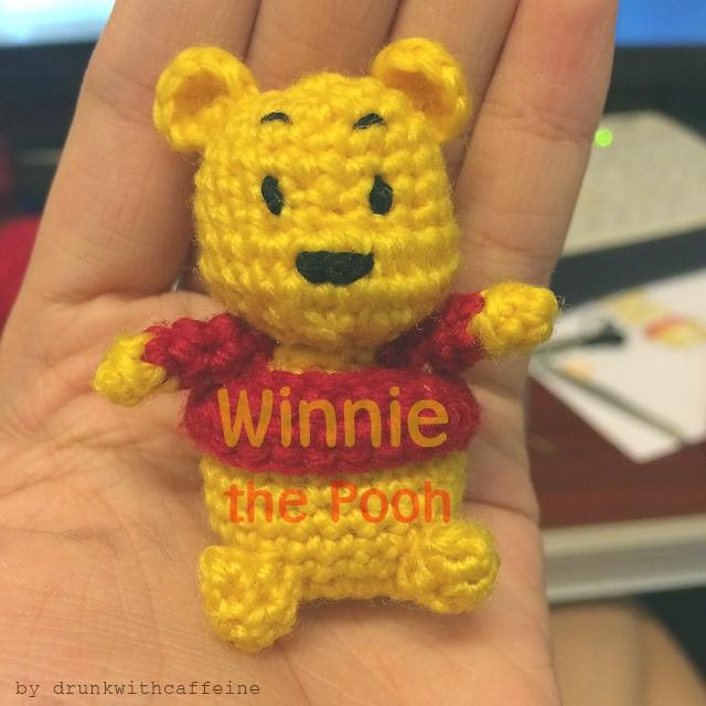Drunk with Caffeine: Amigurumi Pattern Winnie The Pooh