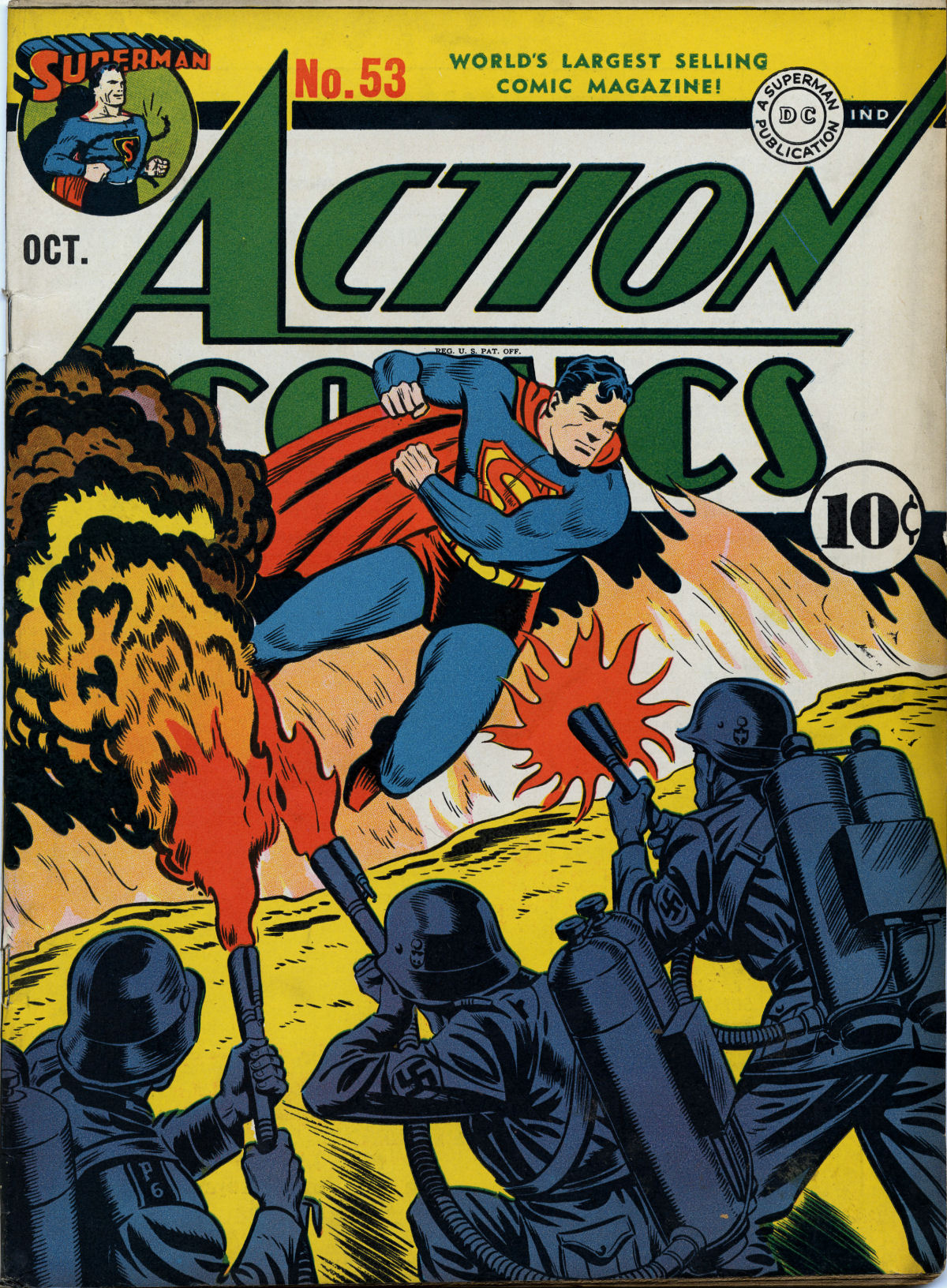 Read online Action Comics (1938) comic -  Issue #53 - 2