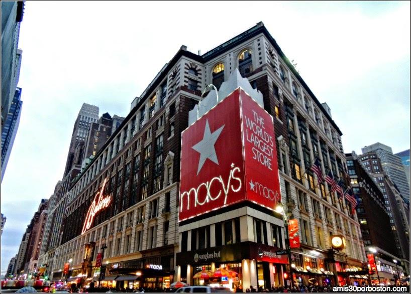 Fachada del Macy´s en Nueva York