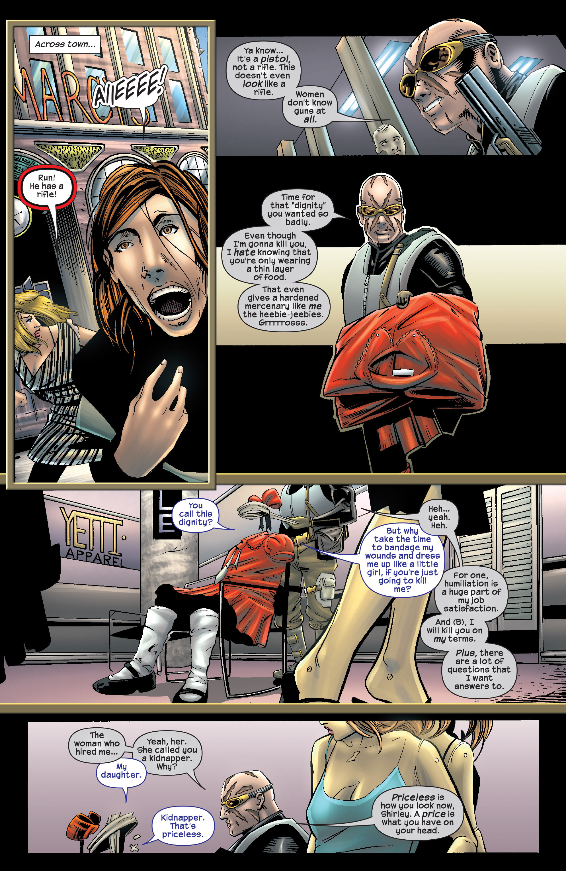 Read online Agent X comic -  Issue #9 - 8