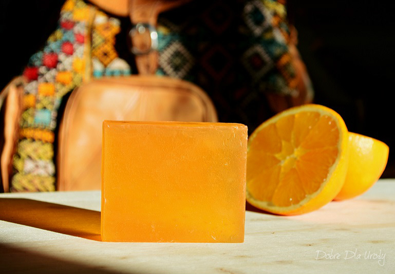 Swati Ayurveda Glicerynowe Mydło imbir - pomarańcza