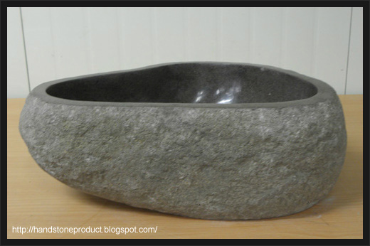 Cowi Indonesia River Stone Wash Basin
