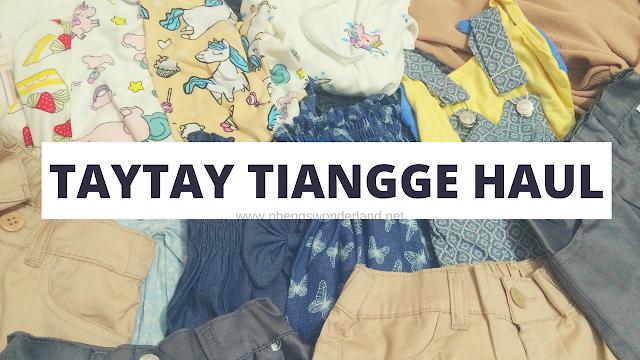 Nheng's Wonderland - Taytay Tiangge Haul