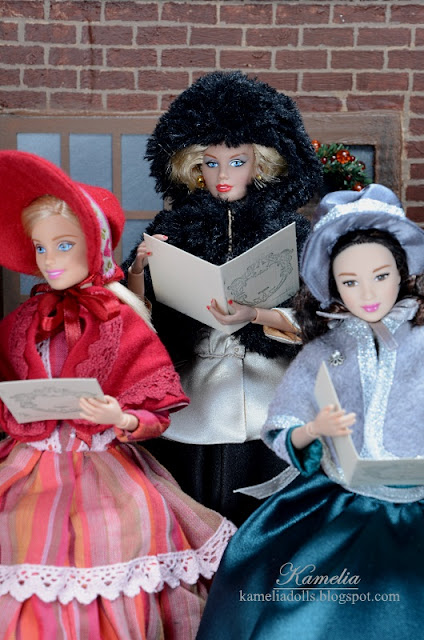 1/6 scale outfits inspired by 19th century fashion.
