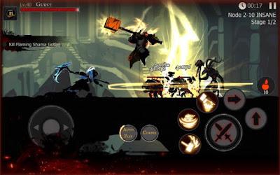 لعبة Shadow of Death مكركة، لعبة Shadow of Death مود فري شوبينغ