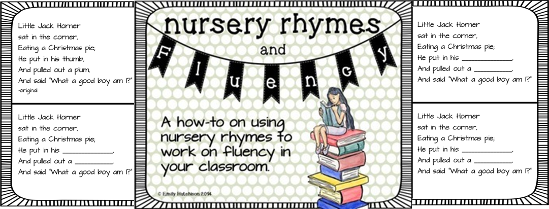 http://www.teacherspayteachers.com/Product/Fluency-with-Rhymes-Nursery-Rhymes-1147557