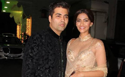 karan-johar-has-fake-laugh-sonam-kapoor