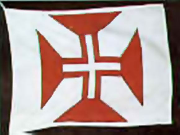 Bandeira da Ordem Militar de Cristo (1332 - 1651)