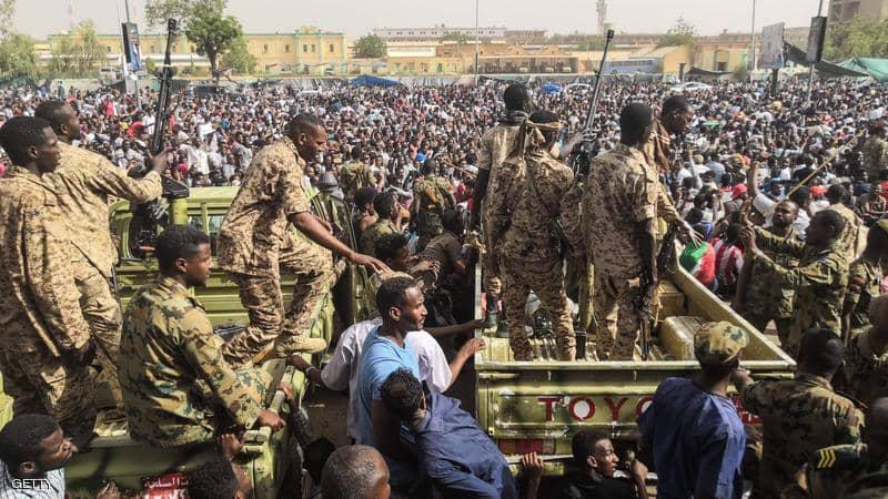 رفض قوى الحراك الشعبي البيان السوداني
