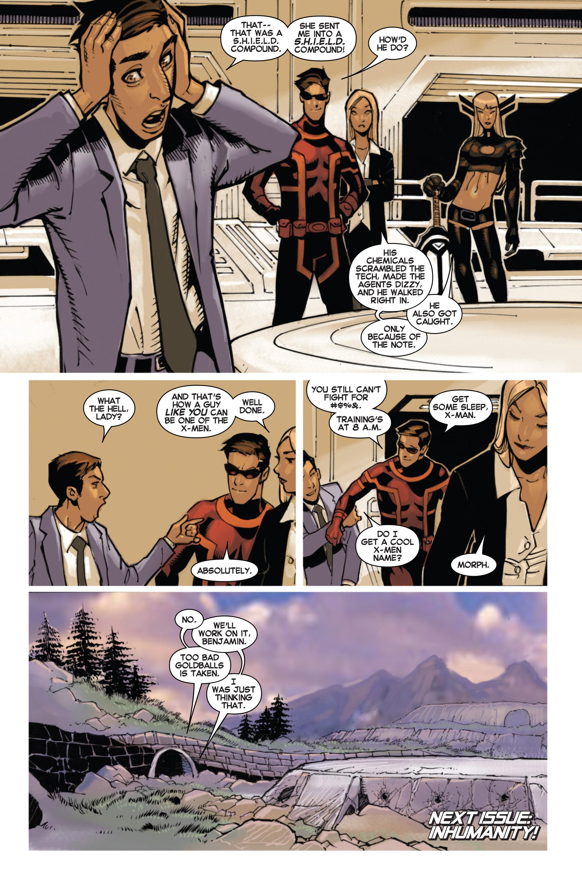 Read online Uncanny X-Men (2013) comic -  Issue #14 - 21