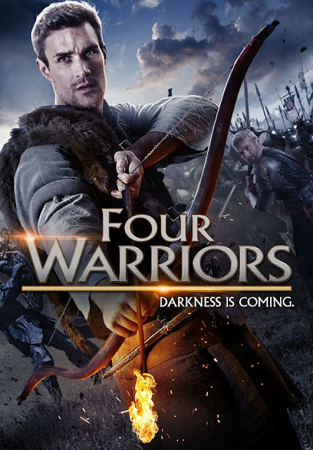 Four Warriors (2015) Hollywood Hindi Dubbed Movie [Dual Audio] BluRay [Hindi OR English] x264 AAC 720p [650MB]