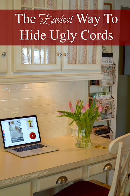 How to hide messy cords
