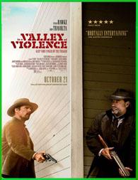 En El Valle De La Violencia (2016) DVDRip Latino HD Mega