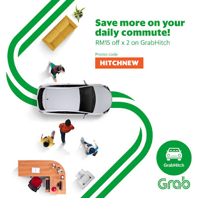 Grab Malaysia Promo Code GrabHitch Ride Discount