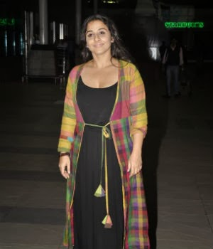 Farhan Akhtar & Vidya Balan snapped at the airport