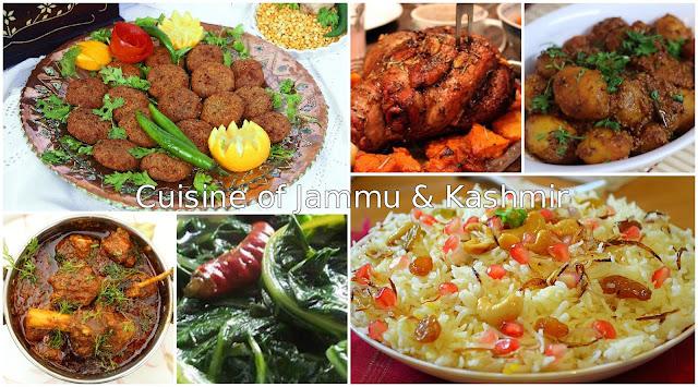 Cuisine of Jammu & Kashmir