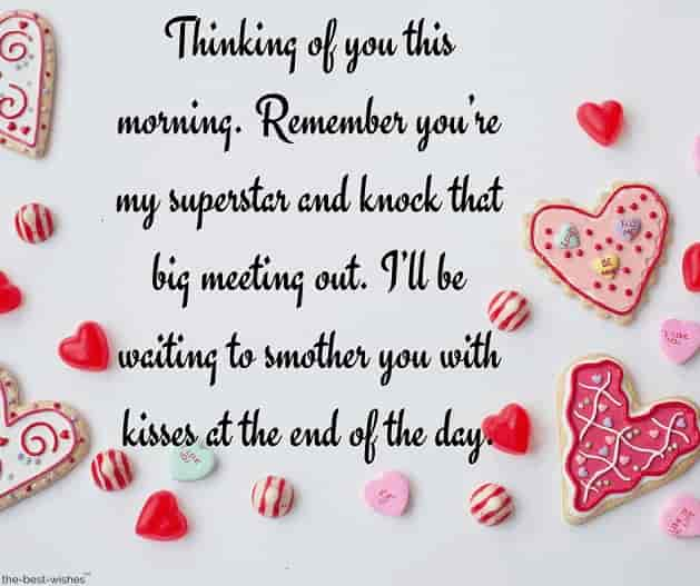 good morning message for husband far away