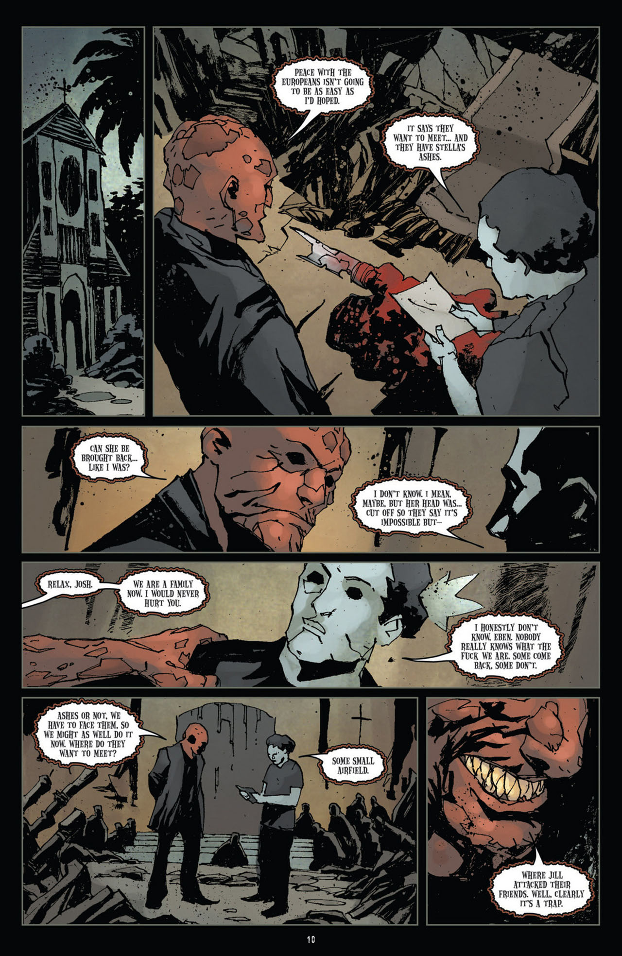 Read online 30 Days of Night (2011) comic -  Issue #10 - 11