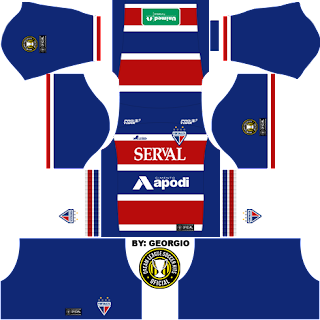 Dream League Soccer Kits: Fortaleza 16/17 - DLS16 & FTS - By