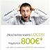 BANKIA regala 800€