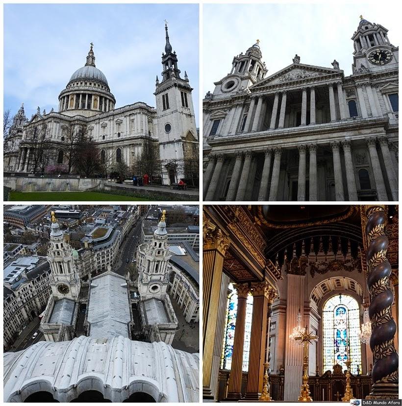 Catedral de St. Paul - Diário de Bordo - 5 dias em Londres