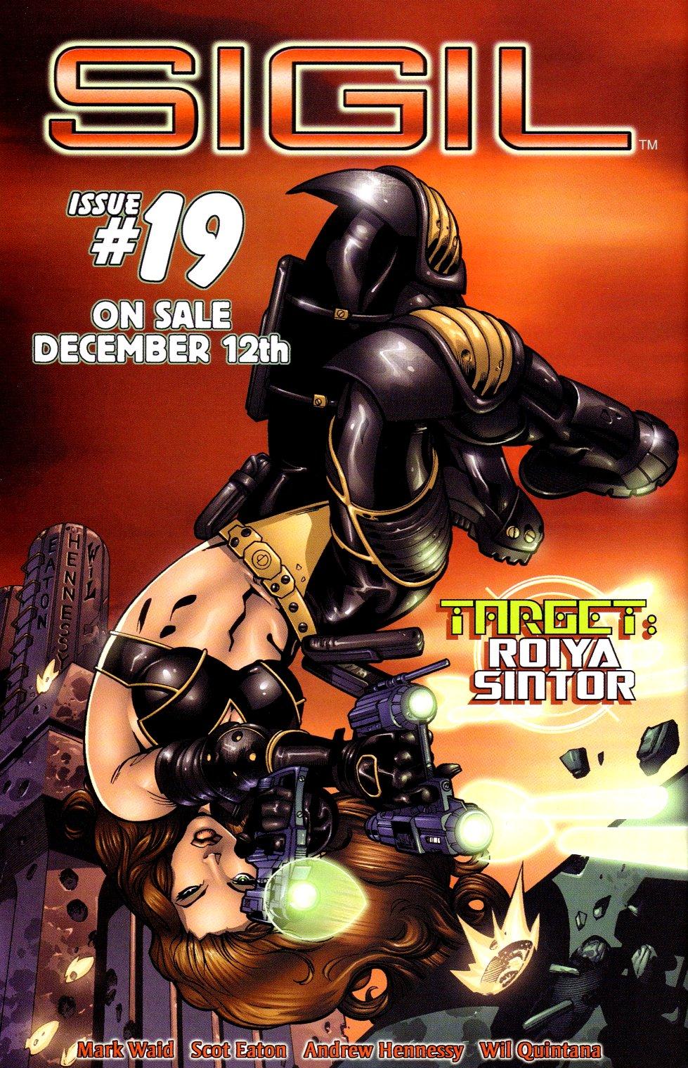 Read online Sigil (2000) comic -  Issue #18 - 25