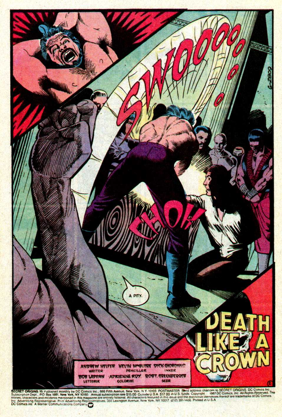 Read online Secret Origins (1986) comic -  Issue #15 - 3