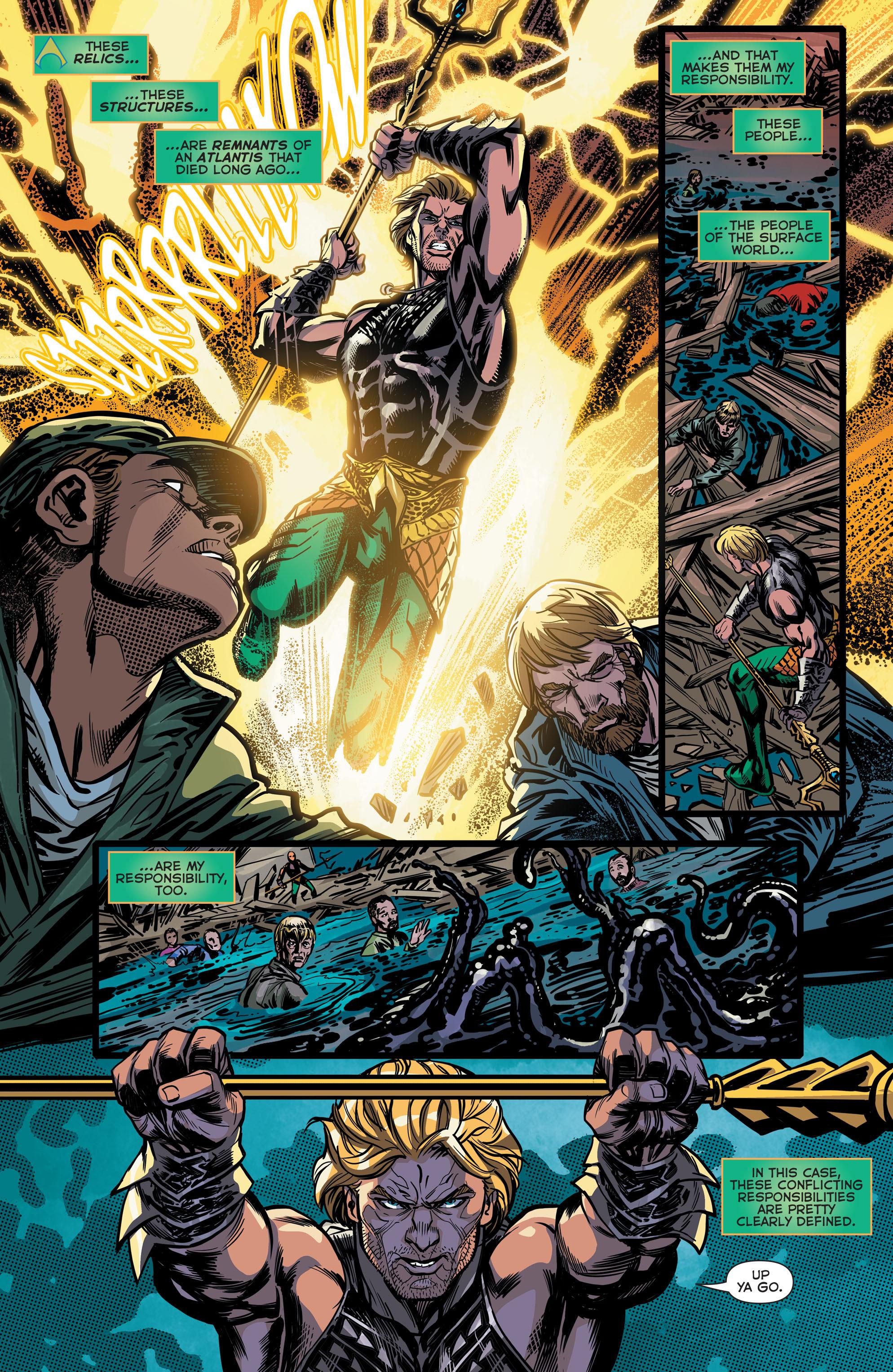 Read online Aquaman (2011) comic -  Issue #42 - 14