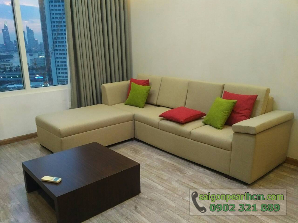 Saigon Pearl cho thuê căn hộ 2PN Topaz 2 tầng 9 - hình 3