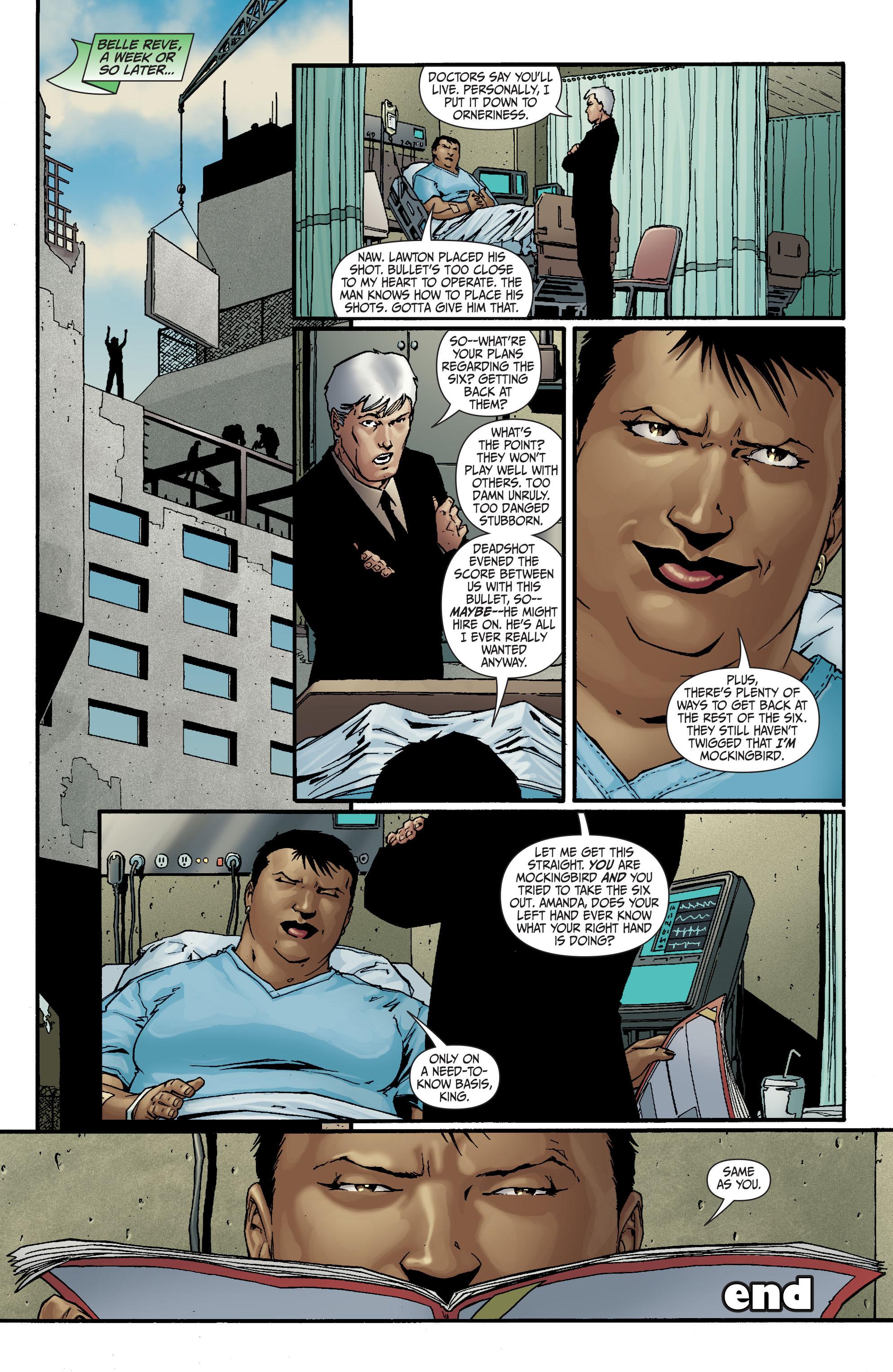 Read online Secret Six (2008) comic -  Issue #18 - 22
