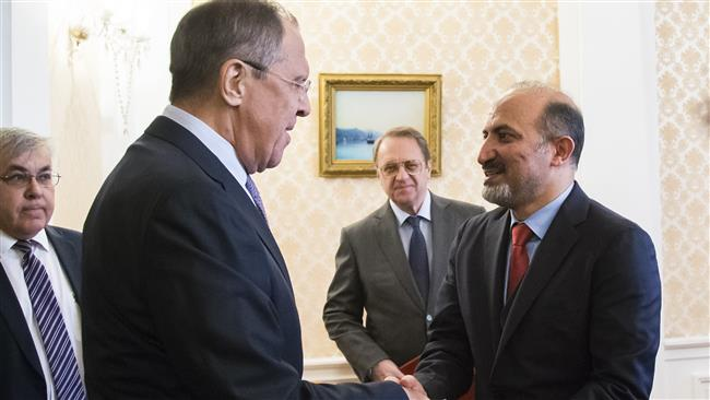 Foreign-sponsored Syria opposition losing influence: Russia's Foreign Minister Sergei Lavrov
